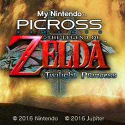マイニンテンドー ピクロス「ゼルダの伝説 トワイライトプリンセス」が登場か