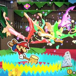 WiiU「ペーパーマリオ カラースプラッシュ」、発売日は2016年に