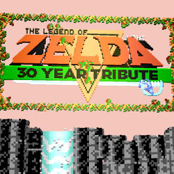 「ゼルダの伝説」30周年記念で、ブラウザで遊べる2.5Dな初代ゼルダ