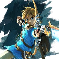 ゼルダの伝説 NX WiiU 新作、リンクの新たな画像。男性的な姿
