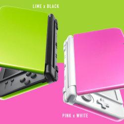 Newニンテンドー3DS LLの新色「ライム×ブラック」「ピンク×ホワイト」緑系