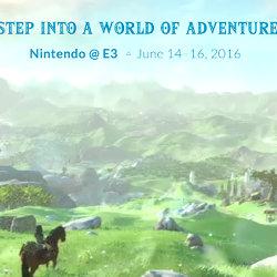 アメリカ任天堂、E3 2016サイト。ゼルダだけ