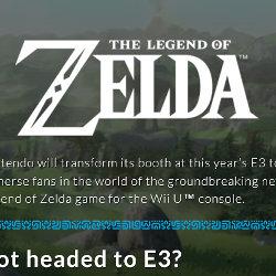 任天堂E3 2016、プレスカンファレンス、オンライン発表会。ゼルダWiiU出展