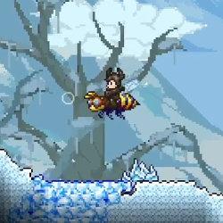 テラリア、WiiU版の発売日。ゲームパッドだけのプレイ対応