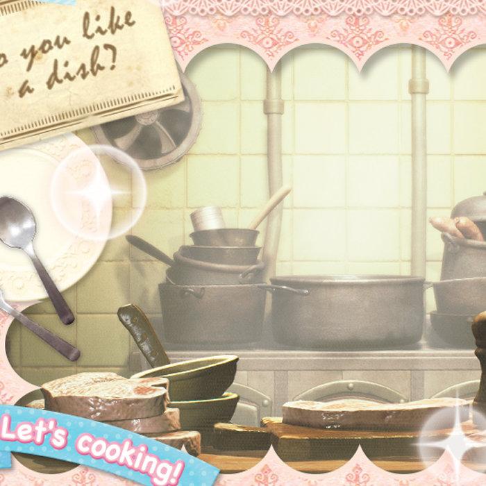 バンダイナムコ、「かわいらしいキッチン」のゲームのカウントダウン