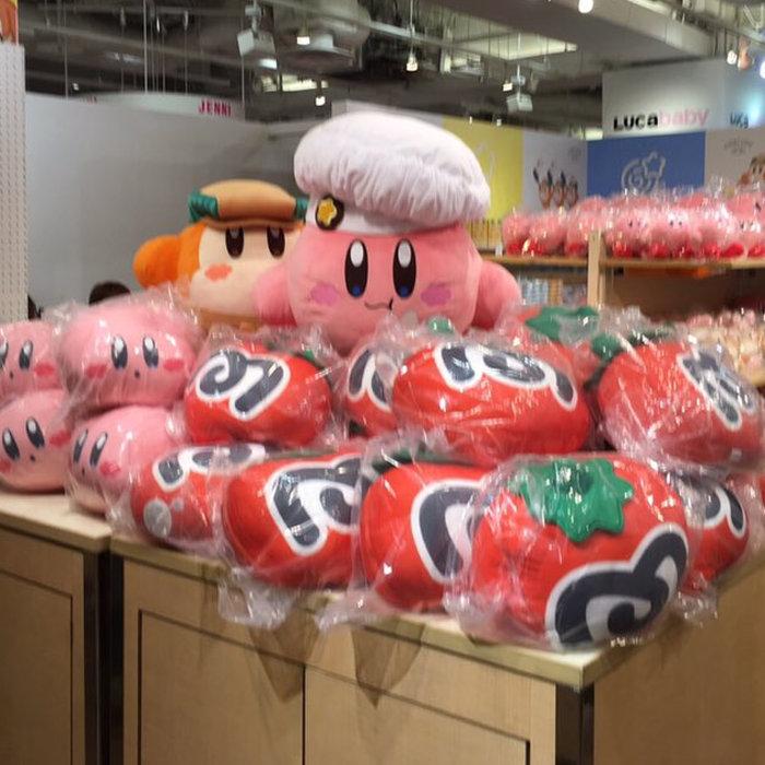 カービィのショップが名古屋にオープンで、大阪は終了