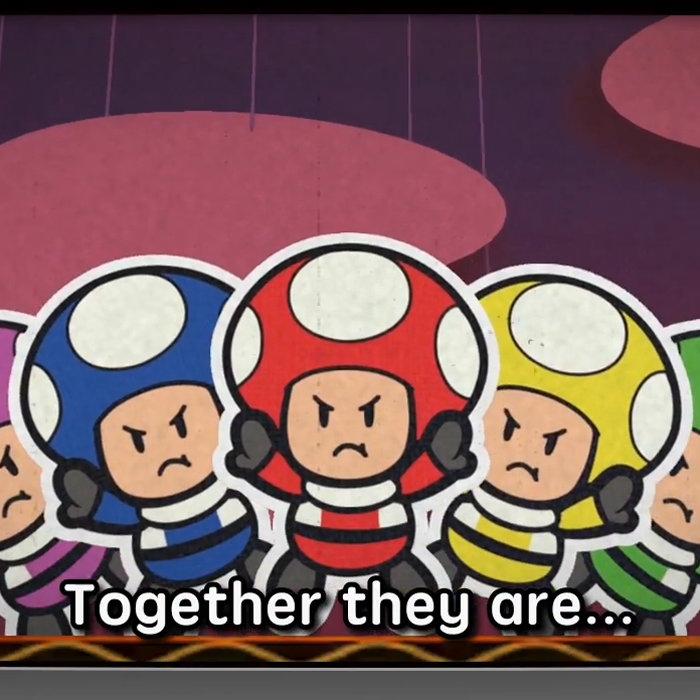 ペーパーマリオ カラースプラッシュ、キノピオを戦隊ヒーロー
