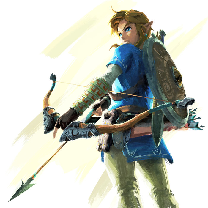 ゼルダの伝説 ブレス オブ ザ ワイルド、弓がとても重要なアイテム