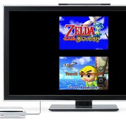 ゼルダの伝説 夢幻の砂時計、WiiU VC。DS閉じる操作ホームボタン