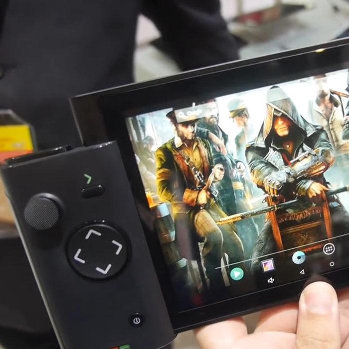 任天堂NXっぽいタブレット「Morphus X300」。コントローラー分離