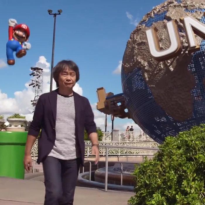 任天堂のテーマパークのエリア、USJ。マリオのアトラクション