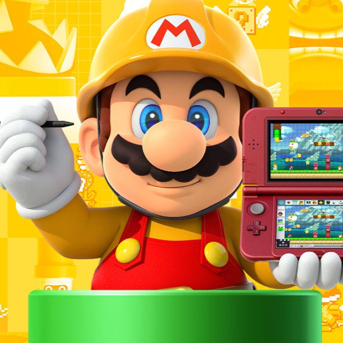 スーパーマリオメーカー 3DS、紹介映像。遊べる100コース収録