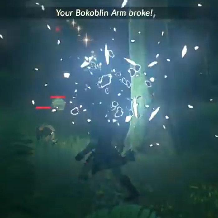 ゼルダの伝説 ブレス オブ ザ ワイルド、武器が壊れる