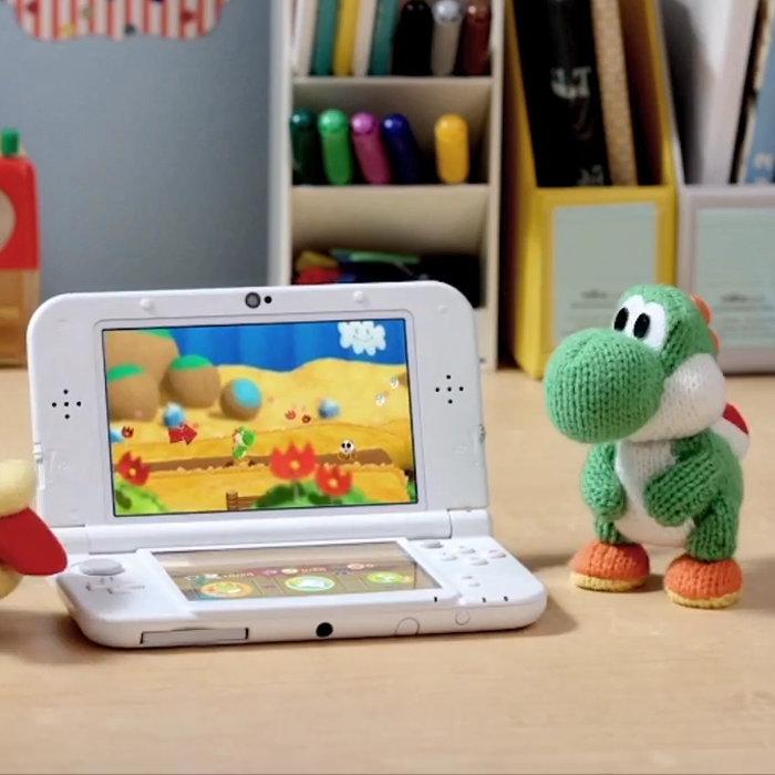 「ポチと! ヨッシー ウールワールド」、New 3DS本体、2人プレイ