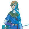 ゼルダの伝説 ブレス オブ ザ ワイルド、リンクのコンセプトアートが2つ公開。雰囲気違う?