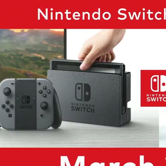 ニンテンドースイッチ、発売日は2017年3月3日、価格は29980円、リージョンフリー