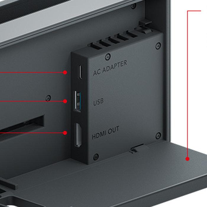 ニンテンドースイッチ、本体の容量。microSDXCカードで最大2TB対応、外付けHDD