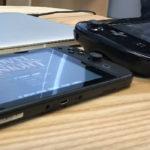 ニンテンドースイッチ、WiiUゲームパッド、3DS、iPhoneなどとの画面サイズ比較