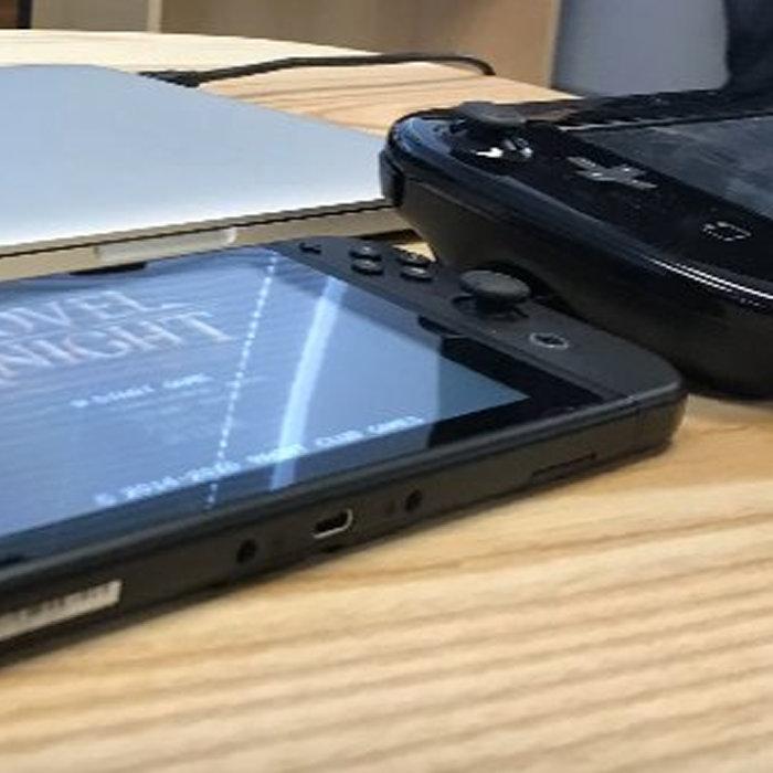 ニンテンドースイッチ、WiiUゲームパッド、3DS、i画面サイズ比較