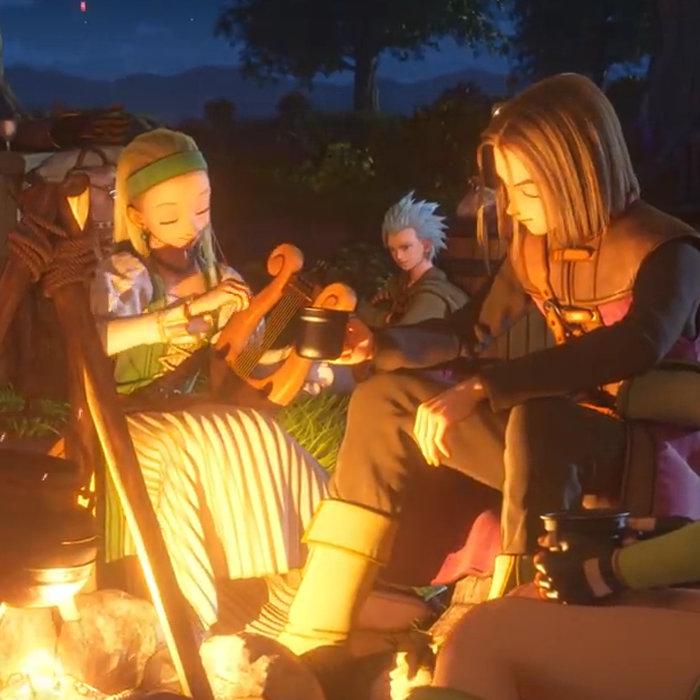 ドラゴンクエスト11、新システム。キャンプや馬での冒険、旅芸人シルビア