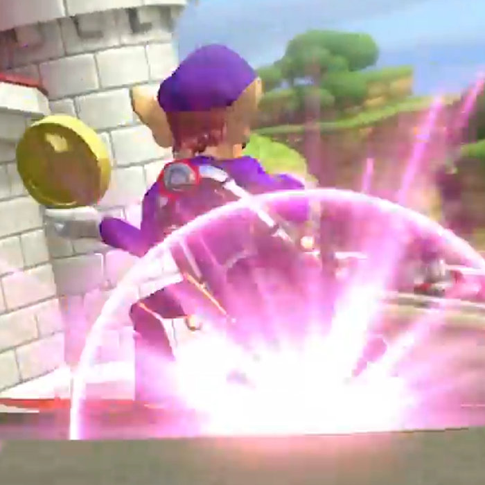 マリオカート8 デラックス、ミニターボ紫色。3段階目の新テクニック