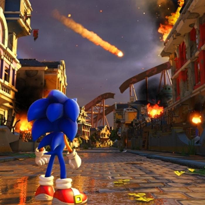 ソニック新作「Sonic Forces」、ニンテンドースイッチ、PS4