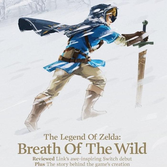 ゼルダの伝説 ブレス オブ ザ ワイルド、海外ゲーム雑誌の表紙