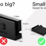 ニンテンドースイッチ、小型で携帯できるドック登場。スキル必要