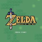 ゼルダBOTWの実験用2Dを元にした「Breath of the NES」、任天堂によって終了