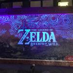 ゼルダの伝説 ブレス オブ ザ ワイルド、夜に光る看板が凄い