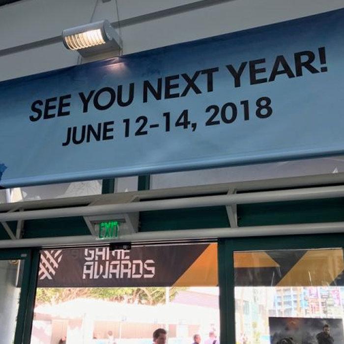 E3 2018、開催日と日程。今年イベント終了