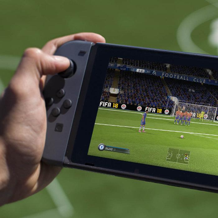 ニンテンドースイッチ、FIFA 18。「The Journey」なし