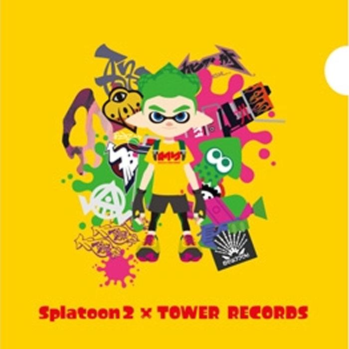 スプラトゥーン2、タワーレコードとのコラボグッズ