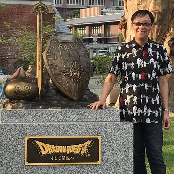 ドラゴンクエスト、30周年の記念碑が淡路島。堀井雄二展