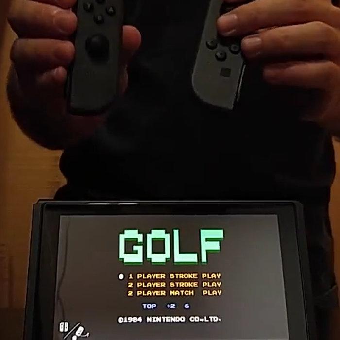 ニンテンドースイッチ、ゴルフゲーム起動すると岩田ボイス