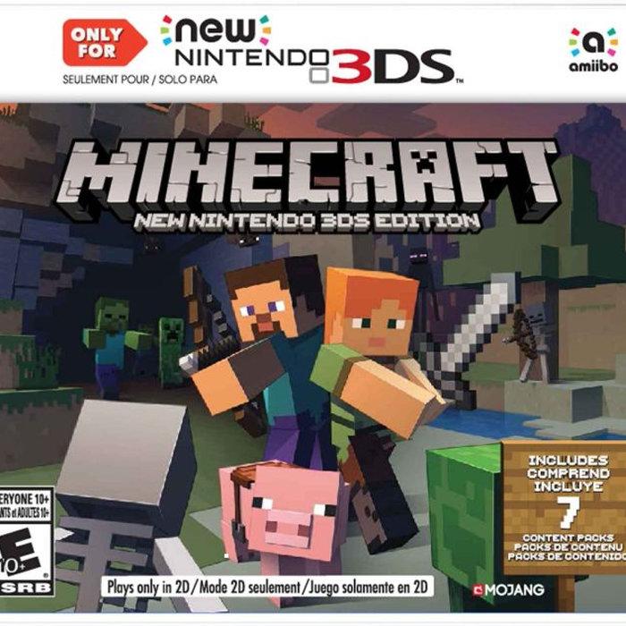 マインクラフト、New 3DS Editionのパッケージ版がもうすぐ