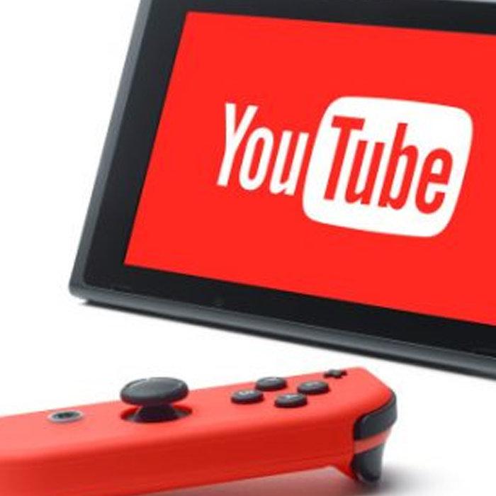 ニンテンドースイッチ、Youtube見たい?海外Hulu
