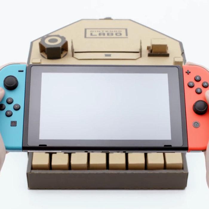 Nintendo Labo、ゴミと間違えられ捨てられそうになった