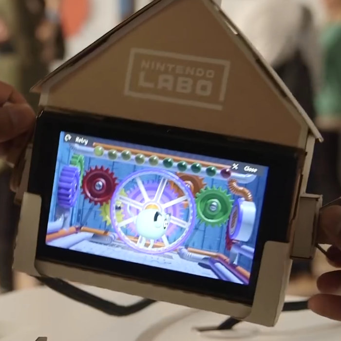 Nintendo Labo、体験会への応募がアメリカで倍率50倍