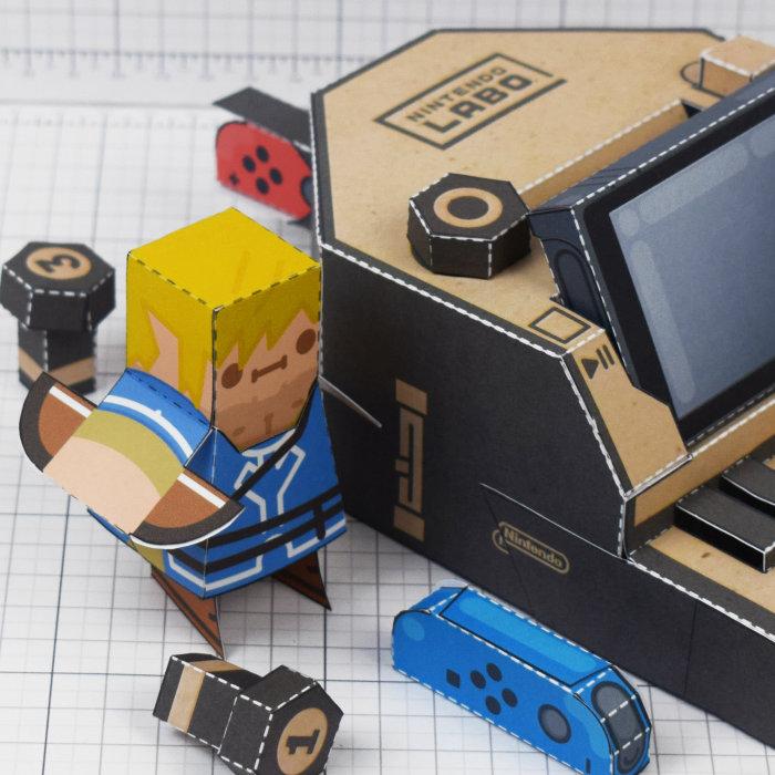 ゼルダの伝説 ブレス オブ ザ ワイルド、Nintendo Labo風リンク