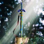 ゼルダの伝説、マスターソード型の傘が海外で登場。鞘型のカバー付き