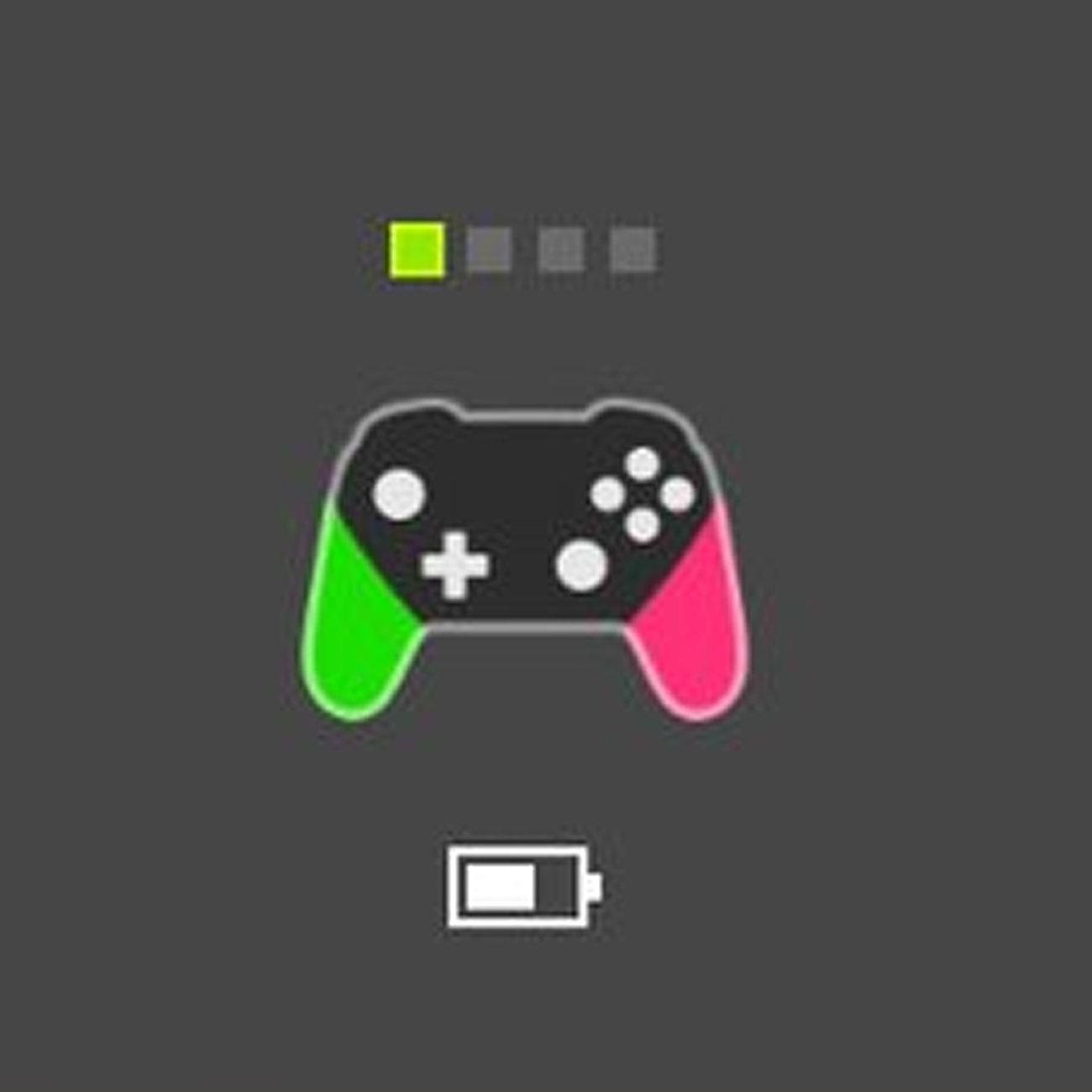 ニンテンドースイッチ、PROコントローラーの色も表示