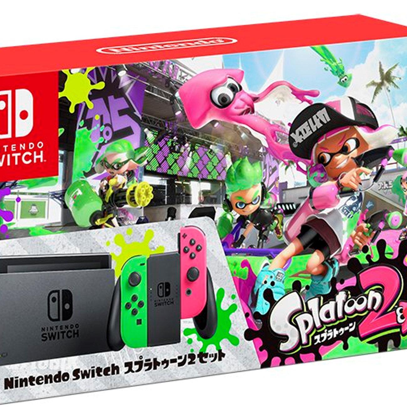 Nintendo Switch スプラトゥーン2セット、再販。特典