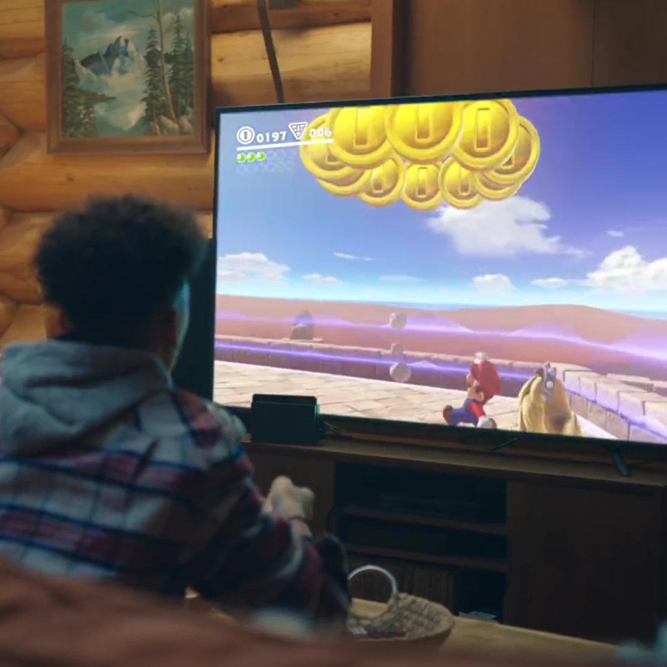ニンテンドースイッチ、テレビモードで遊ぶ人が多数派