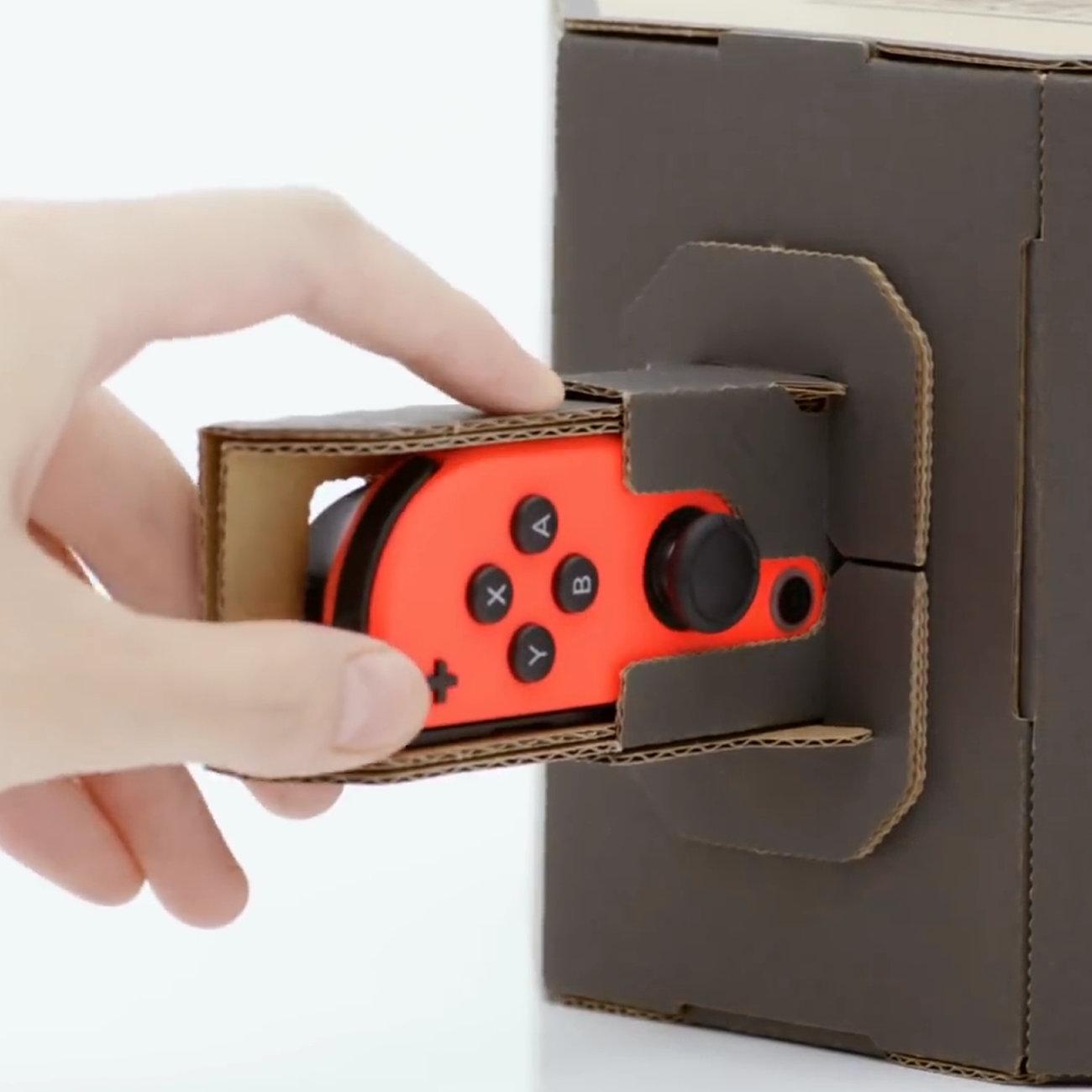 Nintendo Labo、ダンボールが破れたときは購入可能