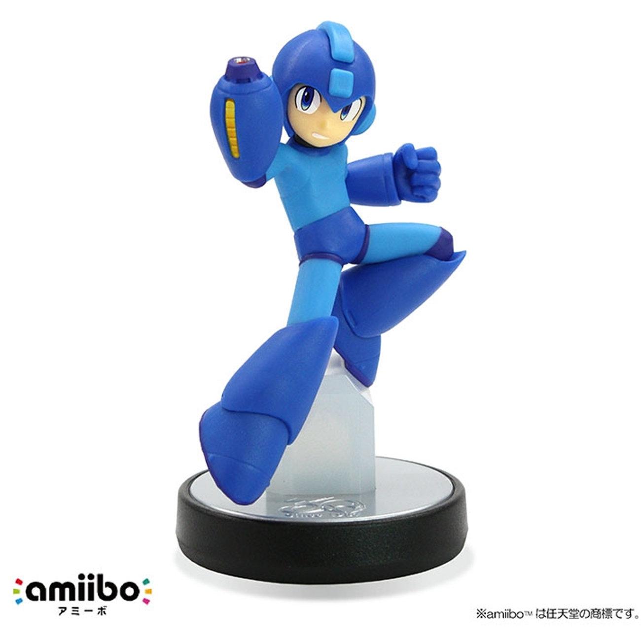 ロックマン、新作の発売に合わせて新型amiibo。限定版