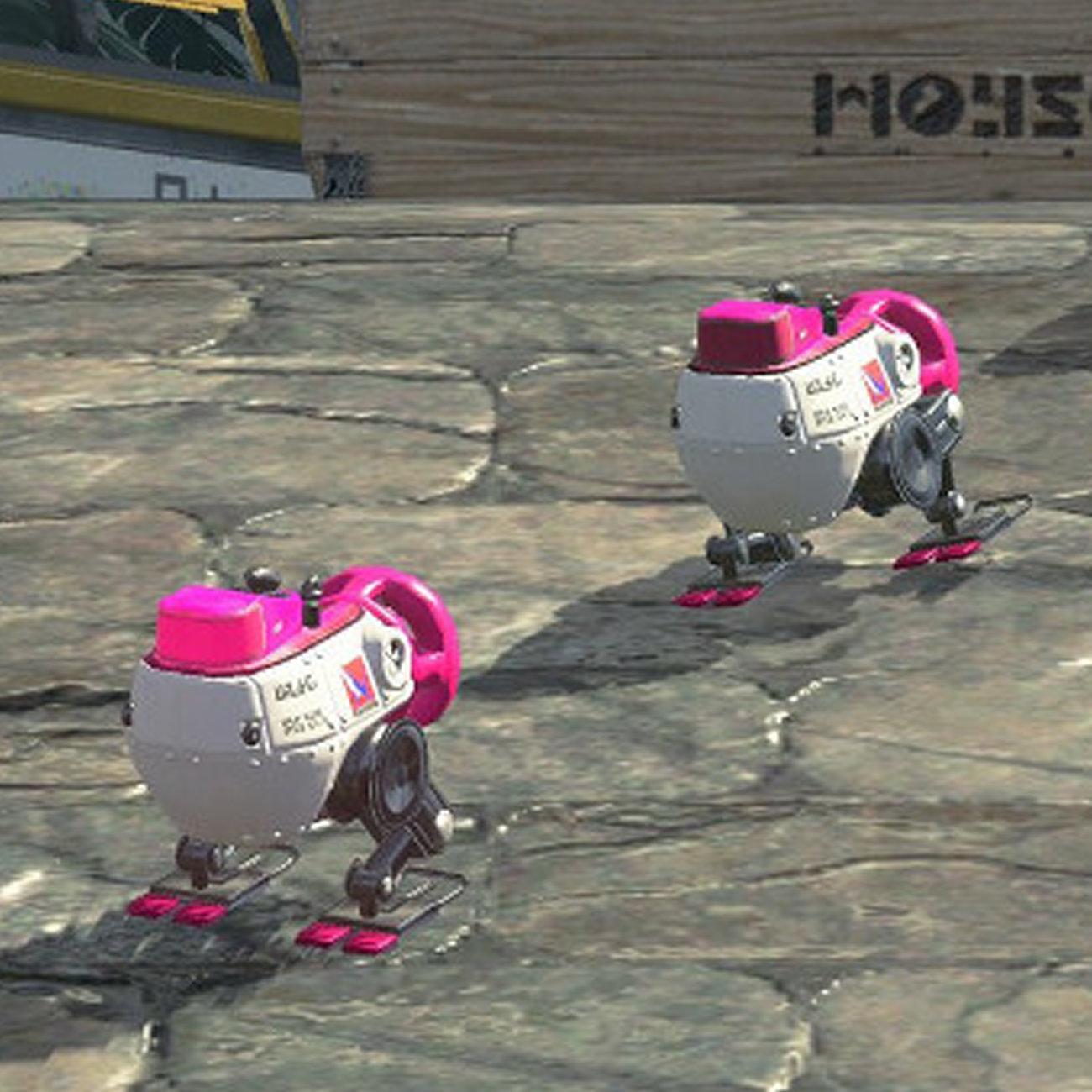 スプラトゥーン2、ロボットボムピッチャーSP