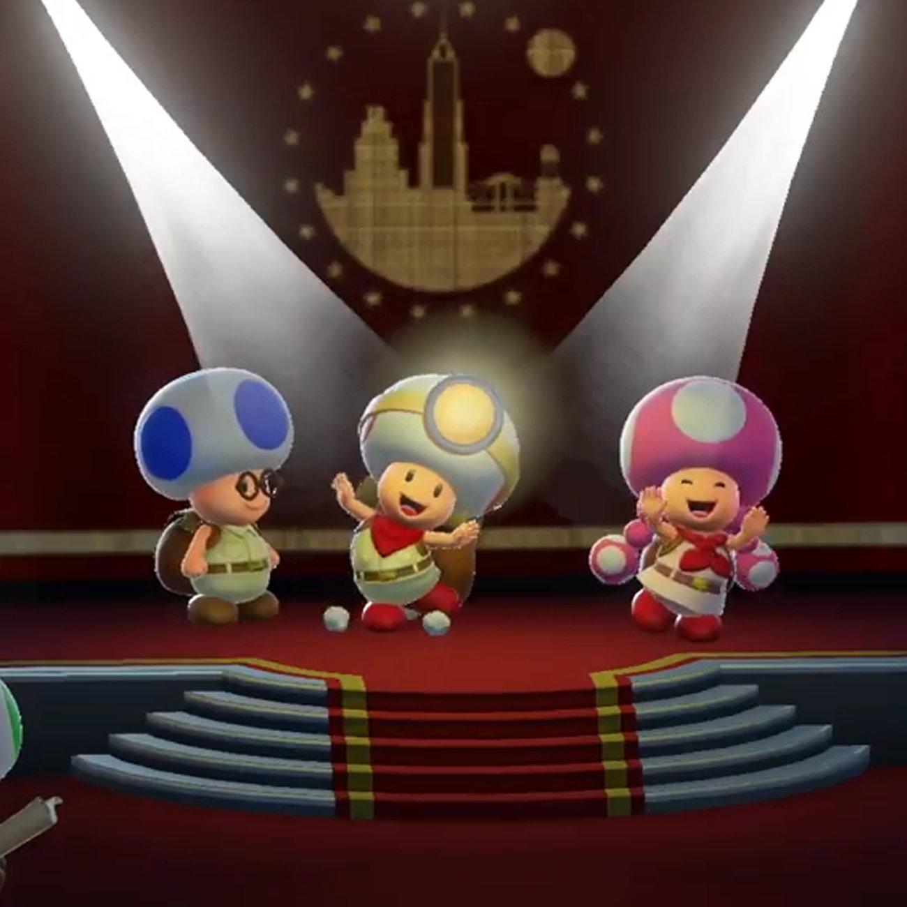 進め!キノピオ隊長、3DSとニンテンドースイッチ、WiiU違い