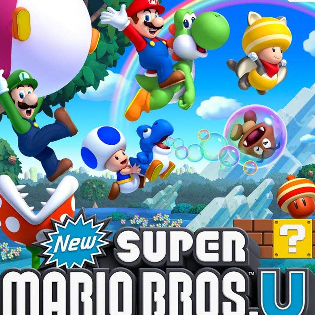 New スーパーマリオブラザーズ、ニンテンドースイッチ。WiiUのDX