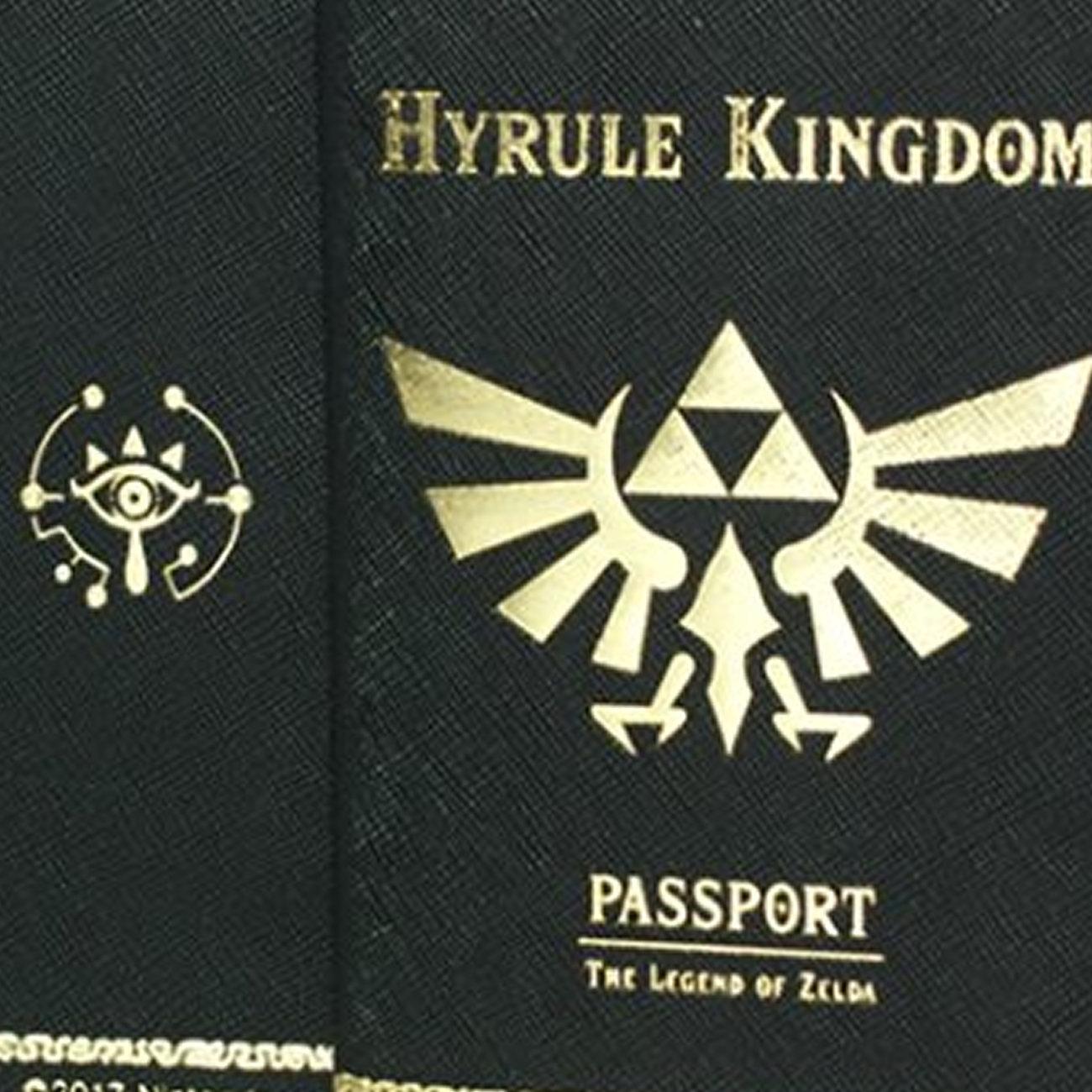 ゼルダの伝説 ブレス オブ ザ ワイルド、パスポートカバー